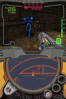 Metroid till DS - imponerande grafik.