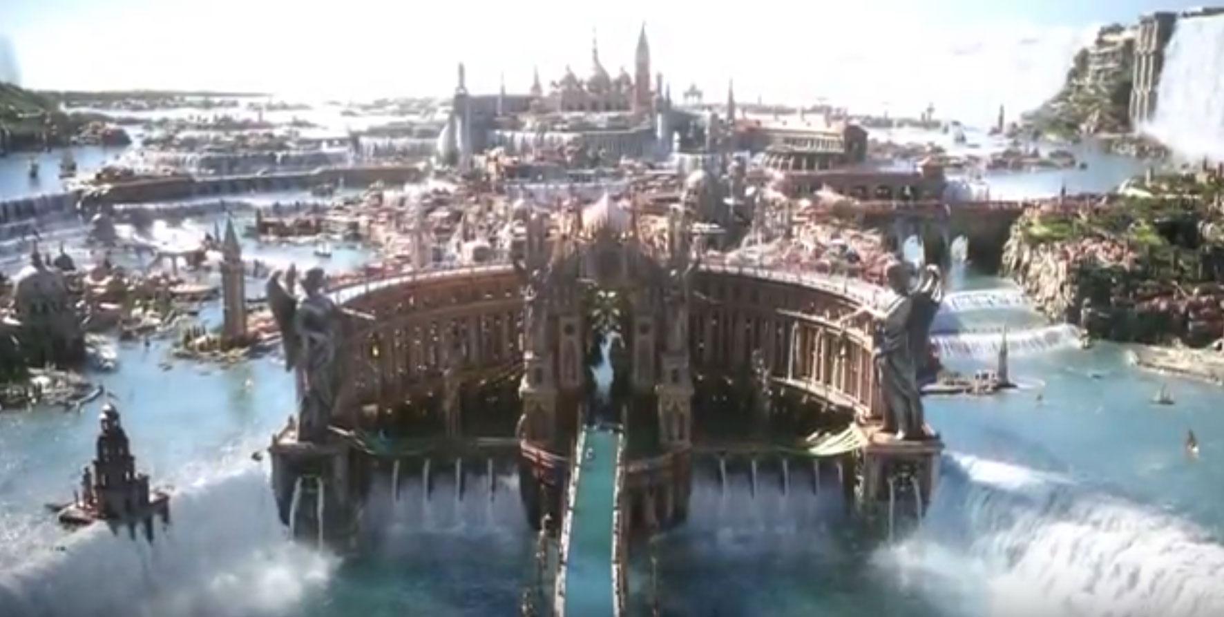 Trailer till Final Fantasy XV