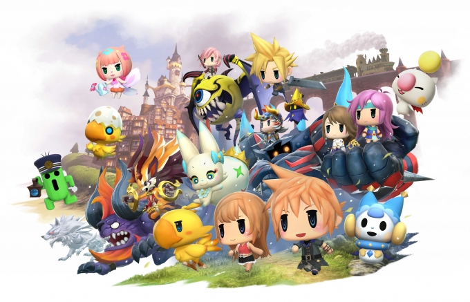 World of Final Fantasy till PC